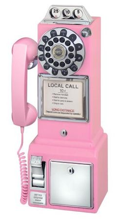 Amazon.com : Crosley Radio CR56-PI 1-Handset Landline Telephone : Corded Telephones : Electronics