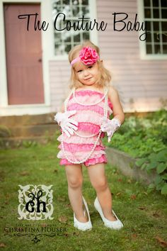 Pinkalicious Petti Romper from The Couture Baby