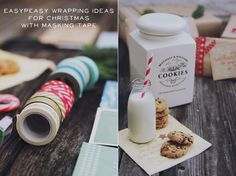 * magnoliaelectric: blogging around christmas // giftwrapping ideas {DIY}