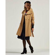 Scotch & Soda overslag coat, Camel Scotch Soda, Blazer, Winter Coats, Stitch Fix, Camel, Jackets, Fashion, Down Jackets, Moda