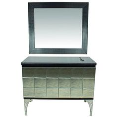 """""""Neiman"""" Styling Station With Mirror and Granite Counter Top Salon Styling Stations, Home Salon, Salon Equipment, Salon Furniture, Granite Countertops, Outdoor Furniture, Outdoor Decor, Salons, Counter Top"""