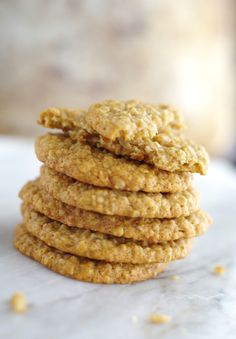 A recipe for delicious ginger and oat cookies, super easy to make and will provide a steady release of energy to keep you going throughout the day.