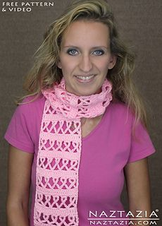 YouTube help video for this scarf is here: https://www.youtube.com/watch?v=lgHuYICfxdQ&index=35&...  Donna Wolfe from Naztazia  http://naztazia.com http://youtube.com/naztazia http://fa...