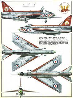 English Electric Lightning F Mk 1a