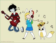 Fionna The Cake Marshall Lee Fiolee Adventure Time