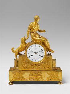 Ca. 1810 - 20.A Parisian époque Empire ormolu pendulum clock., Auction 1056 Lot 1193