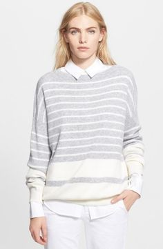 c531656b44 Vince Banded Rib Sweater Us Shop