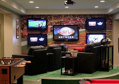 Build the Ultimate NFL Man Cave (Filthy Rich Version) - TheTopTier.net - The Best in Luxury and Affluence