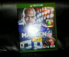 Madden Nfl, Xbox One Games, First Game, Microsoft, Baseball Cards, Nice, Nice France