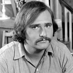 """Primetime Emmy Awards - Best Supporting Actor in Comedy: Rob Reiner as Michael Stivic on All in the Family, (CBS) """"Meathead"""" turned into a great director! Family Tv, All In The Family, 80s Mustache, Mustache Pictures, Famous Mustaches, Norman Lear, Archie Bunker, When Harry Met Sally, Hollywood Boulevard"""
