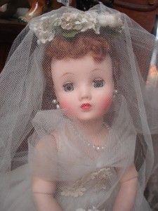 1959 bride | Vintage 1959 Madame Alexander Doll Elise Stunning Bride | eBay