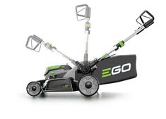 EGO Power+ Lithium-ion Cordless Lawn Mower - Battery and Charger Kit Braun Beard Trimmer, Cordless Lawn Mower, Best Lawn Mower, Lawn Mower Repair, Types Of Grass, Riding Lawn Mowers, Walk Behind, Top Soil, Gardens