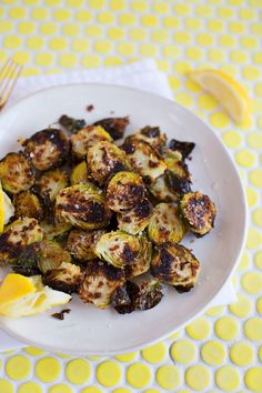 Parmesan Baked Brussels (via abeautifulmess.com)