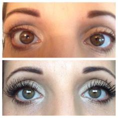Younique's 3 D Fiber Lashes!  aka, magic mascara!  #beauty #younique #magicmascara
