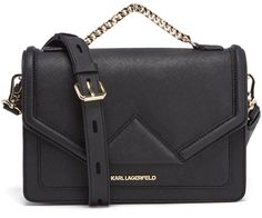 Karl Lagerfeld Women's K/Klassik Shoulder Bag Black