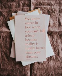 Happy Sunday lovers, I hope reality is better than your dreams! . . . . . . #wedding #engaged #love #engagement #bride… Wedding Stationery, Wedding Invitations, Be Yourself Quotes, Make It Yourself, Minimal Wedding, On Your Wedding Day, Happy Sunday, How To Fall Asleep, Signage
