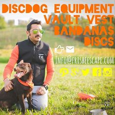 We make the newest discdog equipment, Disc-over @frisbeescape to know all news !! Discs - Vault Vest - Bandanas and more  Infoline: Info@frisbeescape.com  #dogs #dogsport #dogshow #dogstagram #dogsofinstagram #disc #flydisc #frisbee #vaultvest #vault #vaulting #discdog #equipment