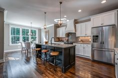 An off market listing, from RE/MAX Elite Home Design Plans, Plan Design, Stone Creek, American Houses, Up House, Big Windows, Dream House Plans, White Cabinets, Small Bathroom