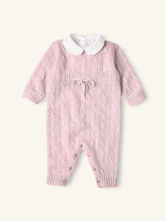 Cashmere Coverall - One-Pieces  Layette Girl (Newborn-9M) - RalphLauren.com