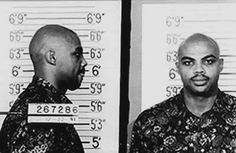 Mugshots: Charles Barkley Arrested For Assault But Calls Brown A Thug???? @TheJetOnTNT @NotChuckBarkley