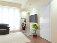 Acrylic interior door - 40 colors available Interior Doors, Oversized Mirror, Indoor, Colors, Furniture, Home Decor, Interior, Decoration Home, Indoor Gates