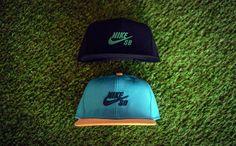 New snapback caps from Nike SB.