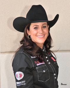 The PC team is rooting for Brittany Pozzi at the NFR this year!