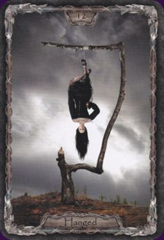 The Hanged Man from the Tarot Gothica