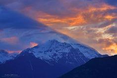Magnifico tramonto in Valle di Susa #myValsusa 24.05.16 #fotodelgiorno di Cristian Della Lucia