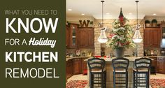 Christmas KItchen -- Be sure to check out this helpful article. Christmas Kitchen, Kitchen Remodel, Diy Crafts, Check, Holiday, Vacation, Christmas Cooking, Holidays, Homemade