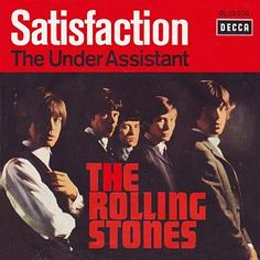 The Rolling Stones, 'Satisfaction' - single cover art, Music Album Covers, Music Albums, Vinyl Cd, Vinyl Records, Lps, Rock And Roll, Keith Richards Guitars, Los Rolling Stones, Charlie Watts