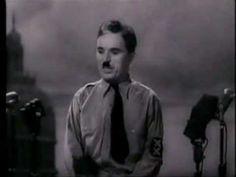 Discurso de Charles Chaplin en El Gran Dictador 1940 - YouTube #charleschaplin #speech #elgrandictador