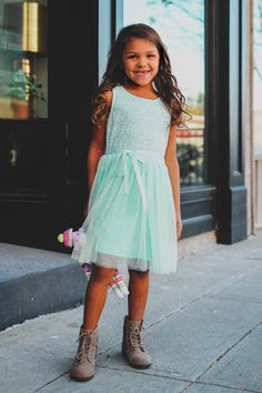 Kids Mint Lace Tutu Dress – UOIOnline.com: Women's Clothing Boutique
