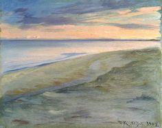 Peder Severin Kroyer - The Beach, Skagen, 1902