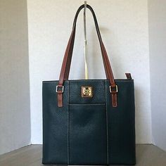 The Pebble Grain Collection is renowned for the rich texture and exceptional durability of its leather. Black Pebbles, Dooney Bourke, Pebbled Leather, Teal, Shoulder Bag, Bags, Fashion, Handbags, Moda