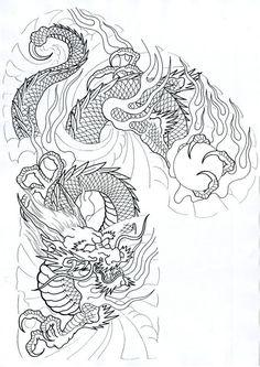 All About Art Tattoo Studio Rangiora. Japanese Dragon Tattoos, Japanese Tattoo Art, Japanese Tattoo Designs, Japanese Art, Dragon Tattoo Art, Dragon Tattoo Designs, Dragon Art, Tattoo Son, Arm Tattoo