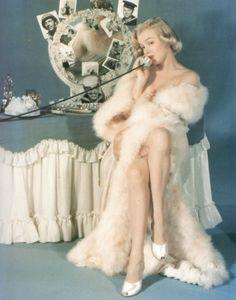 Marilyn at vanity