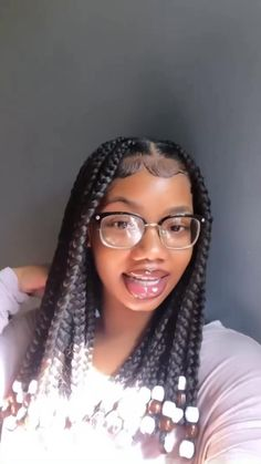 Black Girl Braids, Braided Hairstyles For Black Women, African Braids Hairstyles, Braids For Black Hair, Girls Braids, Pretty Hairstyles, Big Box Braids Hairstyles, Black Hairstyles, Weave Hairstyles