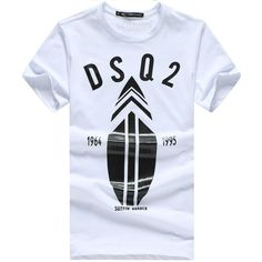 Dsquared2 D2 t-shirts for men, short sleeve cotton tees tshirts