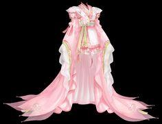 Anime Outfits, Cool Outfits, Beautiful Dresses, Nice Dresses, Anime Dress, Fashion Design Drawings, Yukata, Traditional Dresses, Cute Fashion