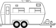 camper picture drawing - Recherche Google