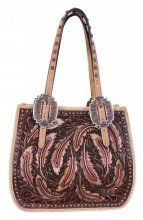 By Collection - Birds Of A Feather - Double J Saddlery - Brown Vintage Small Doctor's Bag - SDB02