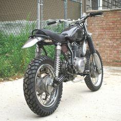 pinterest.com/fra411 #classic #scrambler 81 SR250 by Harney Boy Bikes
