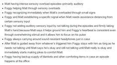 matt murdock/daredevil text post headcanon