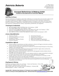samples of functional resume