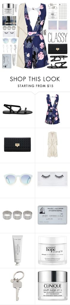 """Yoins Jumpsuit"" by chantellehofland ❤ liked on Polyvore featuring sass & bide, Georgie Beauty, ASOS, Byredo, philosophy, Paul Smith, Clinique, yoins, yoinscollection and loveyoins"