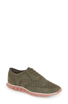 Cole Haan 'ZerøGrand' Perforated Oxford (Women) (Nordstrom Exclusive)  available at