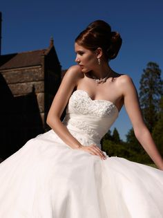 Bhs arabella organza wedding dress