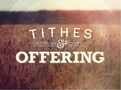 This Tithes and Offering sermon powerpoint for church is great for usage as a backdrop, or to do an actual sermon or teaching on the Biblical foundation of tithing or giving. #Sharefaith
