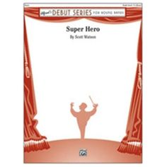 Alfred 00-44169S Super Hero - Conductor Score, As Shown